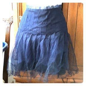 Rodarte for Target blue tulle skirt 7